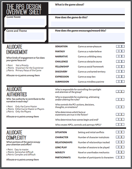image relating to Worksheet Design named  Yore Jason Pitres RPG structure worksheet